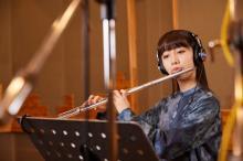 Cocomi、フルート奏者として米ピアニストと対談 家での練習や過ごし方語る