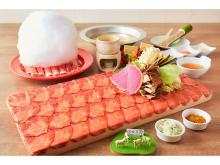 まるで桜のように美しい「タンしゃぶ」が「めり乃」でお得に食べ放題!