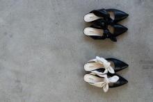 今欲しいのは、毎日履けるちょっといい靴。OHGAのポップアップストアでリボンミュールをGETしなくっちゃ