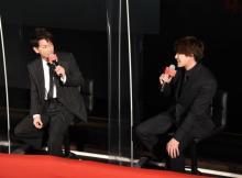 佐藤健、IMAX上映で新田真剣佑の美しさ堪能「まつげが2メートルくらいあった」