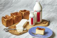 濃厚なミルククリームがたっぷり。大阪・三ツ星ミルク専門店 BAKE&MILKに待望のマリトッツォが登場