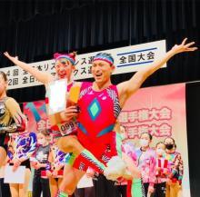 オードリー春日&フワちゃん「全日本エアロビクス選手権大会」でメダル獲得
