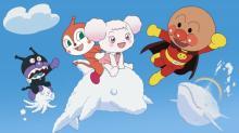深田恭子&山崎弘也、「アンパンマン」と子どもたちの映画館デビューを応援