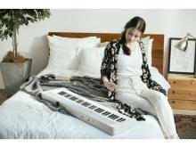 音楽を手軽に!カシオ計算機よりミニマルデザインの電子キーボードが登場
