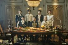 """ENHYPENが華やかな仮面舞踏会に  最後のコンセプト「UP」で""""王子様""""ビジュアル公開"""