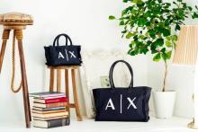 どんなコーデにもハマる「キャンパスバッグ」はマストハブ。A|Xアルマーニ エクスチェンジから新作が登場