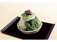 """宇治茶×クリームチーズ!「くろぎ茶々」の贅沢な""""特製かき氷""""が販売開始"""