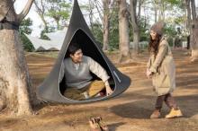 鈴木亮平&JUJUが初ロケ 『せかほし』でキャンプフィールドに飛び出す