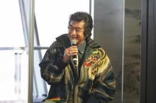 藤岡弘、家族でスカイツリーのMV出演「エキサイティングでした」