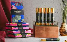 LUSHから全5種類の「パフュームギフト」が登場。気分によって香りを使い分けられるミニボトルのセットです
