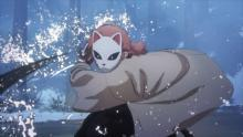 対戦ゲーム『鬼滅の刃』錆兎と真菰が参戦、水の呼吸使い躍動 バトル映像が公開