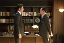 漣・玉木宏が頭脳戦を展開 『桜の塔』第3話で派閥争いの第1ラウンド