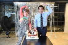 加藤浩次、独立後初CMでフワちゃんと共演 社長としての重圧で「撮影はガチガチ」