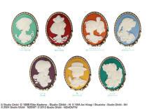 コレクションしたい。ジブリ作品のヒロインが彫刻された「Donguri Closet」のカメオブローチにときめきます