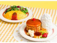 Eggs 'n Thingsから見た目も可愛いレトロなパンケーキ&オムライスが登場!