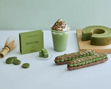 MAISON CACAO「四季とメゾン」シリーズ第3弾。新緑の季節にぴったりの香り高い抹茶×ほうじ茶が主役です