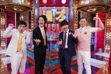 オードリー&霜降り明星タッグ『漫才JAPAN』 ゲストのももクロ玉井&佐々木と「一問一答ウソつき漫才」