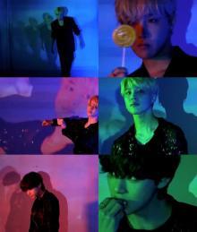 BTS、Vがグミを食べながら踊る 新曲「Butter」コンセプト映像JIMIN、J-HOPE編も
