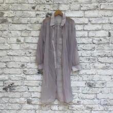【GUレポ】今季大優勝したシアーシャツはGU!ふわっと裾が広がるロング丈でスタイルアップが叶うんです
