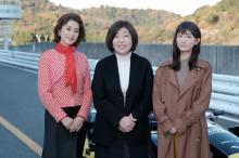 林真理子『最高のオバハン』撮影現場を見学 大地真央&松本まりかに賛辞