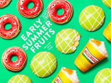 """期間限定!""""まるでスイカとメロン""""のようなドーナツで夏を先取り"""