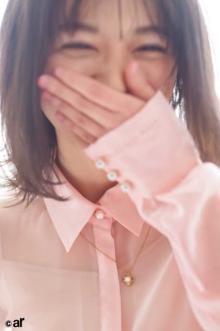 櫻坂46森田ひかる、ピンクシャツ&ピンクネイルで笑顔全開 衣装にまつわるマル秘トークも