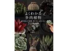 多肉植物の育て方や楽しみ方を紹介!『よくわかる多肉植物』発売