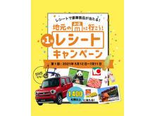 1400名以上に賞品が当たる!「地元のお店に行こう!和歌山レシートキャンペーン」