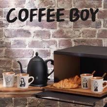 コーヒー好きに贈りたい。BIRTHDAY BAR×COFFEE BOYコラボ第2弾「ゆるかわ偉人グッズ」が悩殺級です