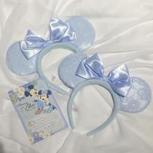 ディズニーの新カチューシャがとにかくかわいい…。「しあわせのブルー」でとっておきの時間を過ごせそうです