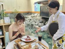 浴室が飲食可能なカフェに変身!2日間限定イベント「おふろde カフェ」