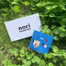 なみなみ模様がチャームポイントなの。唯一無二の世界観が魅力的なブランド「nori enomoto」って知ってる?