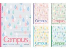 コクヨから「限定キャンパスノート<しずくキャンパス>」が6月上旬に登場!