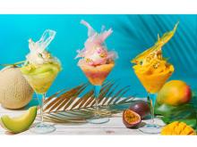 夏のフルーツをふんだんに使ったパフェがインターコンチネンタル 東京ベイに登場!