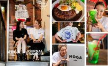 渋谷の名店「MOGA Cafe(旧 モボモガ)」とジャーナルスタンダードがコラボ。名物メニューがTシャツに