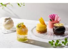 """「HIBIKA」から日本の美しい夏を愛でる彩り華やかな""""夏のケーキ""""が登場!"""