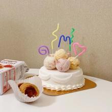 次のお友達のバースデーケーキはこれに1票!「31 デコケーキ カラフル☆ポップ」で自分好みにデコっちゃお