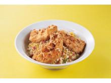 れんげ食堂Toshuにボリューム満点の「鶏ささみ揚げチャーハン」が期間限定で登場!