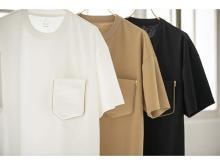 日本初!胸ポケットを外すとエコバッグになるTシャツ「KUMIKI」誕生