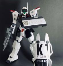ガンダムの世界線で日本警察はどうなる?  「妄想が膨らんだ」ジム・スナイパーII 警察仕様が誕生した背景
