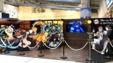 『鬼滅の刃』JR品川駅構内にフォトスペース 鬼殺隊メンバーや鬼の猗窩座など登場