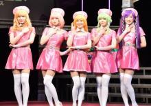 """舞台『キューティーハニー』キャスト""""ナース服""""姿に 上西恵「セクシーかわいい」"""