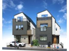 駅徒歩3分!ゆとりある4LDKの新築一戸建て分譲住宅「マインドスクェア舎人」