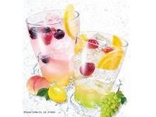 「エクセルシオール カフェ」でりんご酢を使った炭酸ドリンク2種が発売!