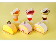 資生堂パーラーの店舗限定ケーキ「プティット クープ」「ロールケーキ」が新発売