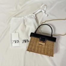 【ZARA】人気のかごバッグがもうセール品なの!? これだけはチェックしてほしい夏本番に使える強者バッグ5選