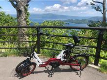 気軽にサイクリング!十和田湖の2拠点で電動アシスト付き自転車のレンタルが開始