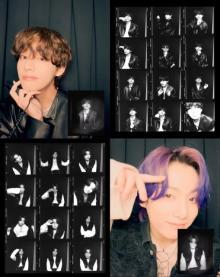 BTS、V&ジョングクがセルフ写真撮影映像投稿 CD「Butter」発売前に新コンテンツ