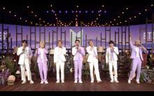 BTS、オンラインショウケースで「Film out」熱唱 JUNG KOOKが楽曲制作の秘話明かす