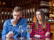 デートしているときに、男性が「期待外れ」だと感じる瞬間